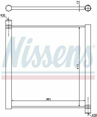 Радиатор SMART FORTWO 451 (07-) 0.8 CDI (OE 451 501 00 01)