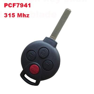 Ключ с чипом Smart Fortwo 451 Америка