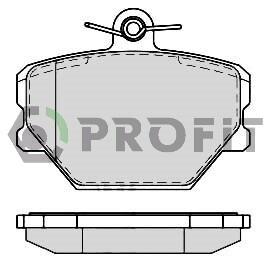 Передние тормозные колодки Smart Fortwo 450 (Profit)