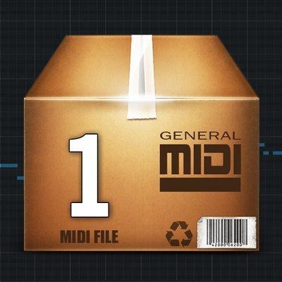 1 MIDI File