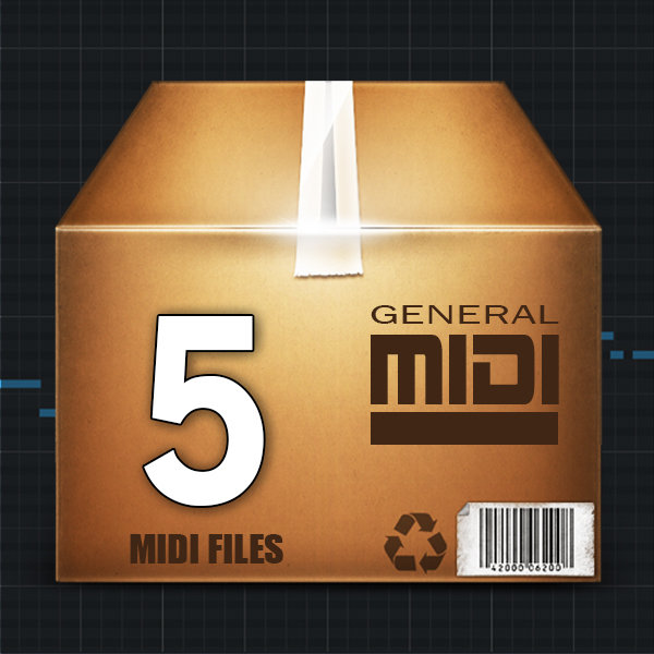 5-Pack MIDI Files
