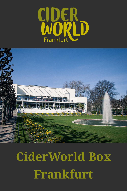 CiderWorld Box Frankfurt im Präsentkarton