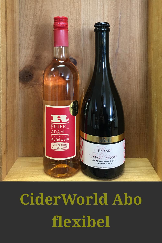 CiderWorld Abo - Versand in Deutschland