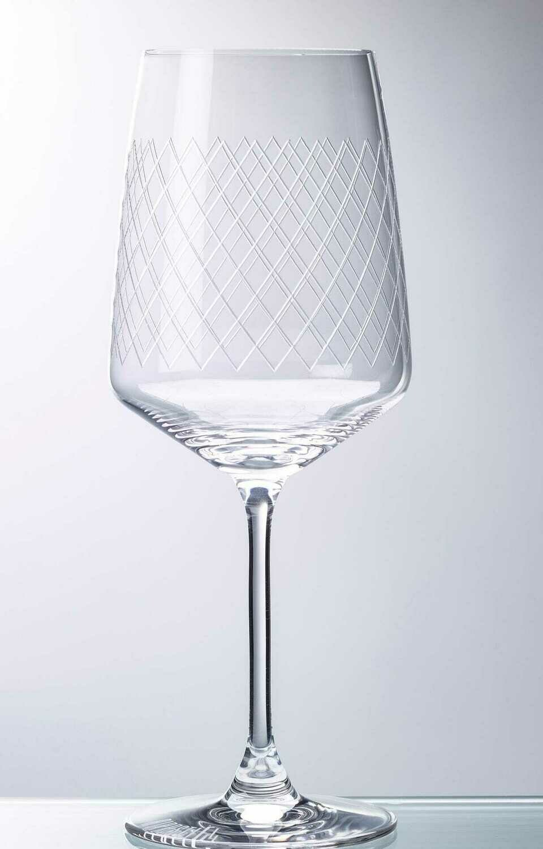 Rippstiel Apfelweinglas