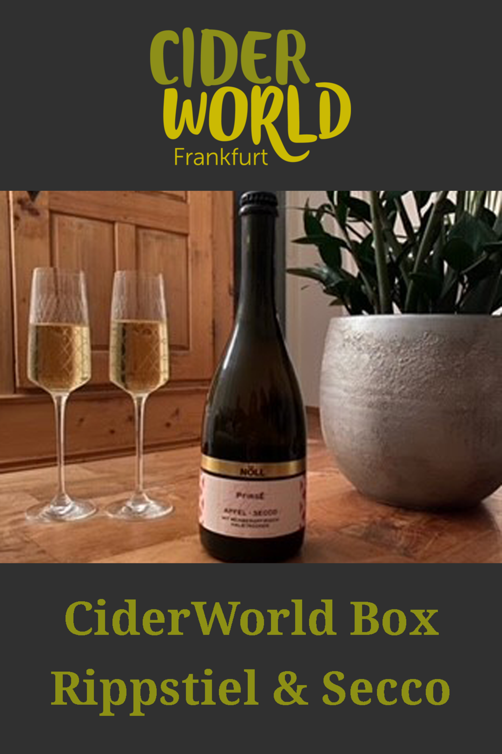 CiderWorld Box Rippstiel & Schaumwein
