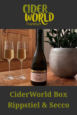CiderWorld Box Rippstiel & Secco