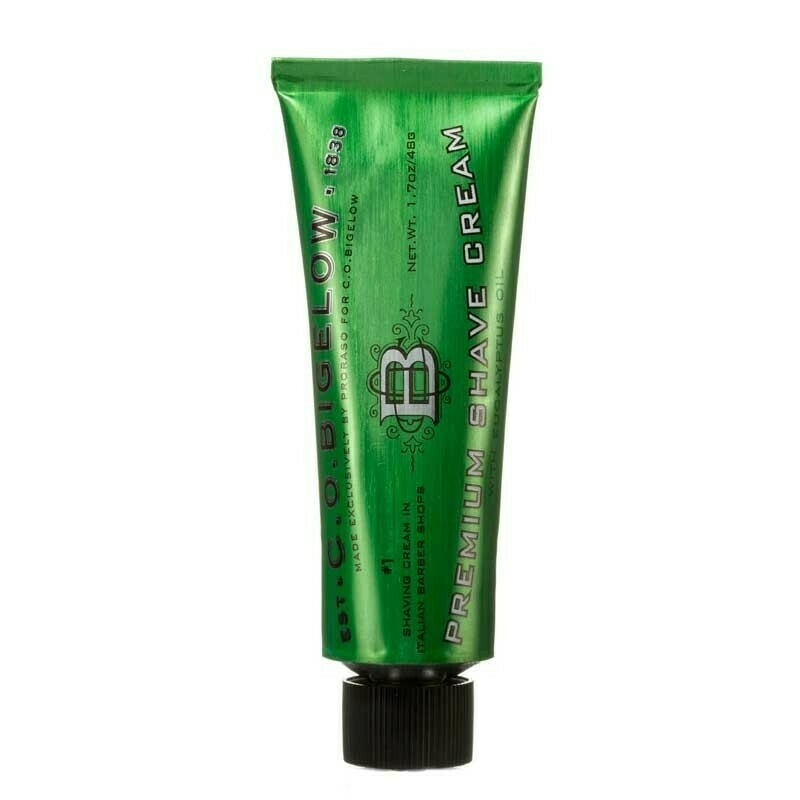 C.O. Bigelow Premium Shave Cream Travel Size