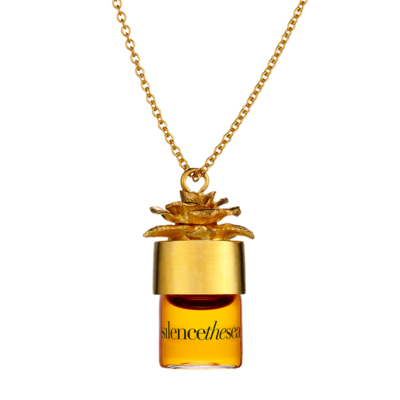 STRANGELOVE Silence the Sea Perfumed Oil Necklace