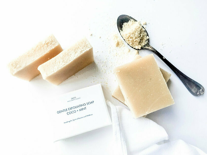 Z & Co. CoCo + Mint 4oz Soap