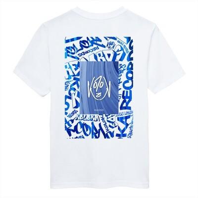 T-Shirt Blanc Koloka Records
