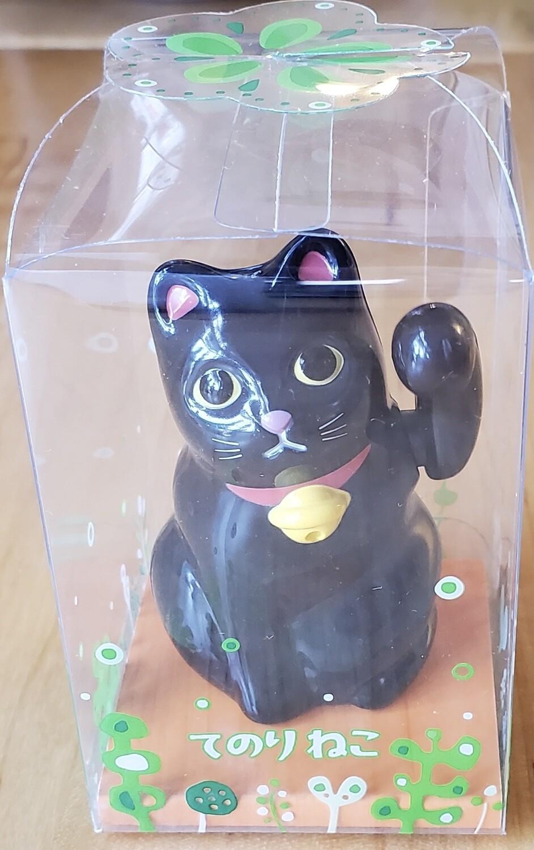 Tenori-Neko Solar Mini Black Cat