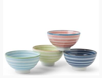 "Sen Colors 4.5"" Rice Bowl Set - J3270"