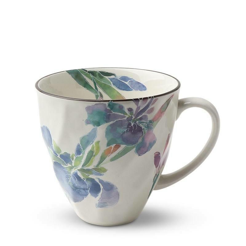 Purple Iris Mug - J5095