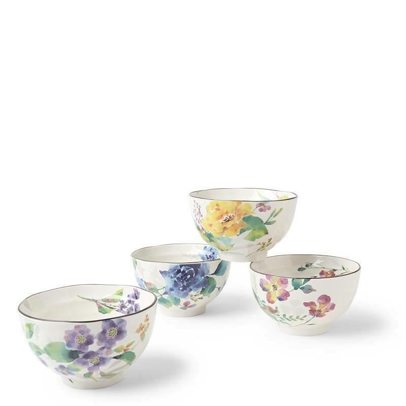 Floral Spring Rice Bowl Set - J6006
