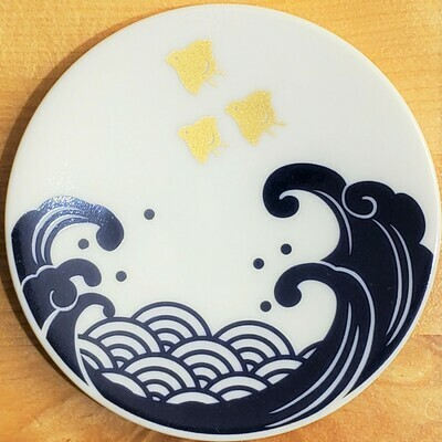 Small Plate Traditional Wave - 21711