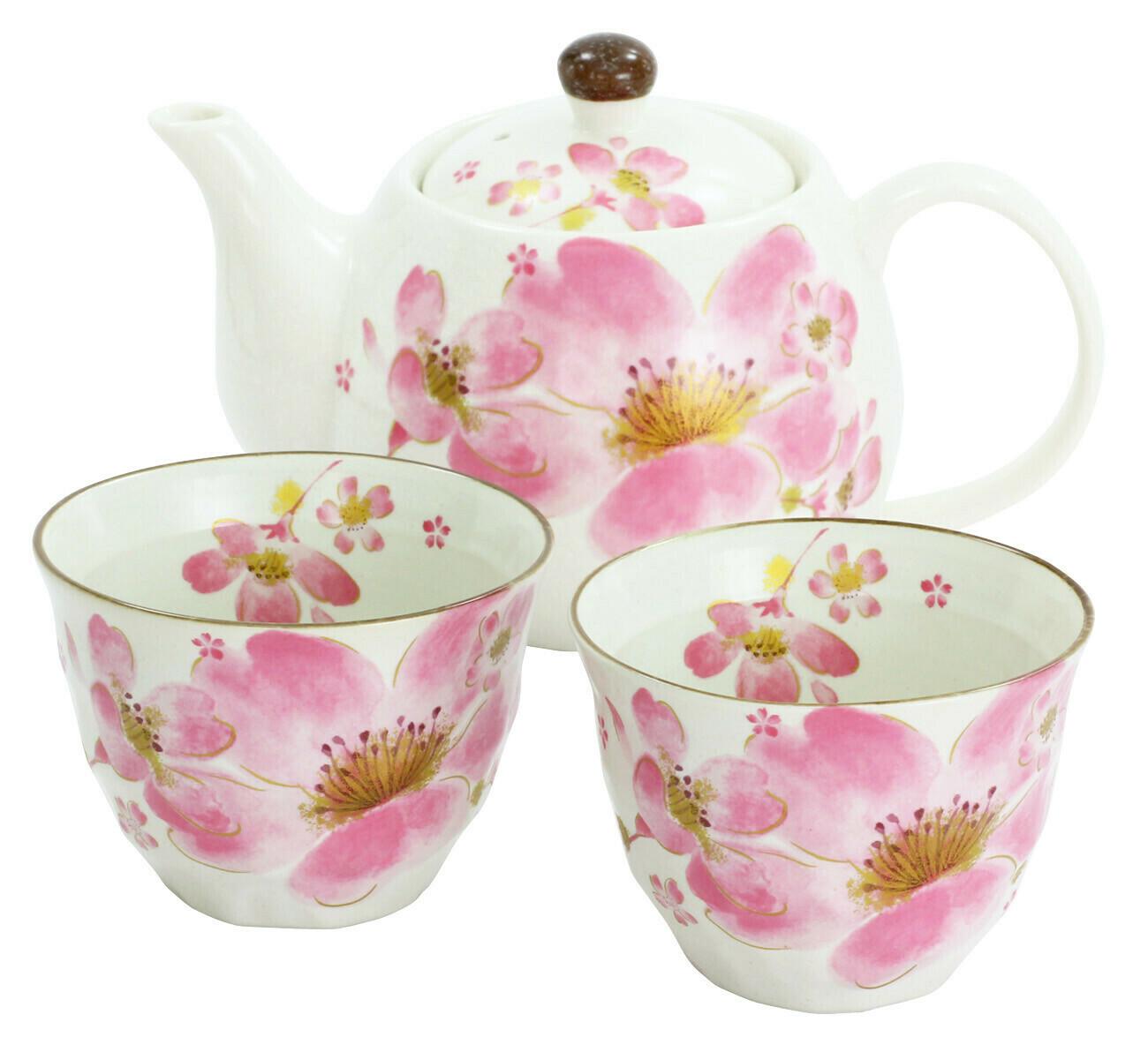 Beautiful Sakura Bloom Tea Set - 110-637