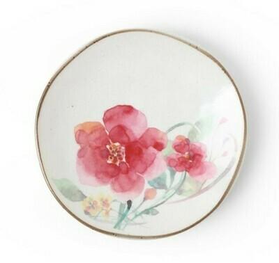 Floral Mini Plate Magenta