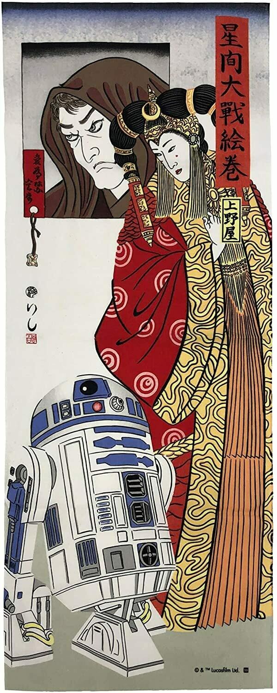 Star Wars - Amidara and R2-D2 Tenugui