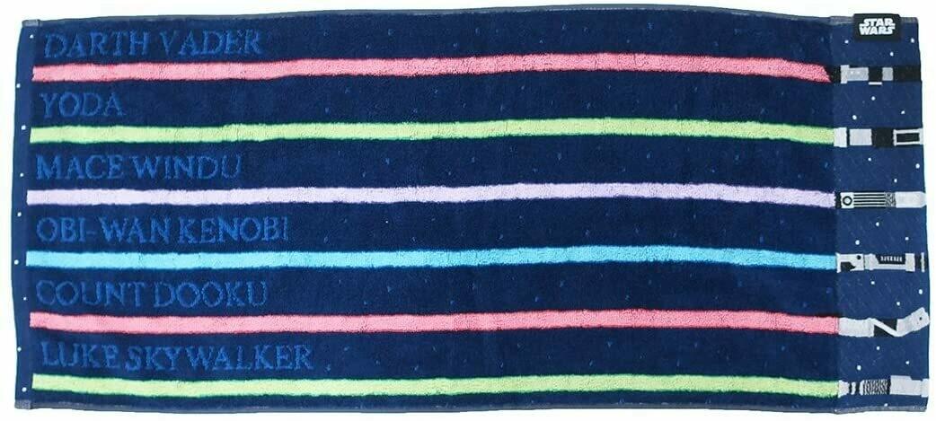 Star Wars - Lightsaber Stripe Face Towel