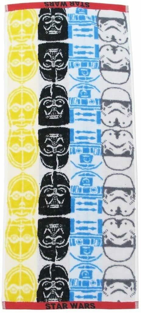 Star Wars - C3PO/Vadar/R2/ST Face Towel