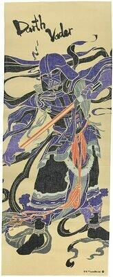Star Wars - Darth Vader Samurai Tenugui