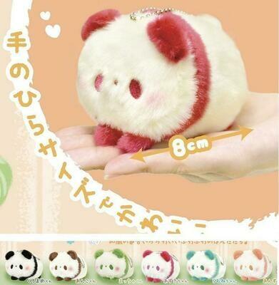 Panda Key Charm Plush 63007