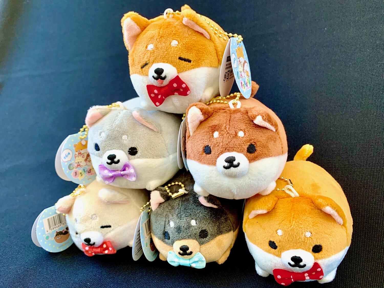 Corgi Dog Plush Keychain 63200