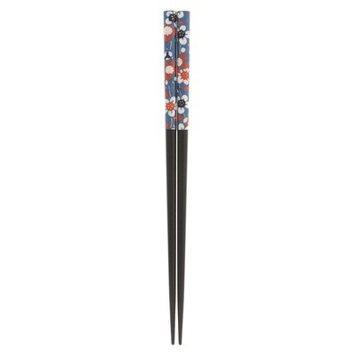 "CStk Washi Blue ""Temari"" Plum Blossoms 315-074"