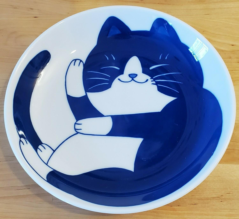 Plate Tuxedo Cat Rocks! 161-646