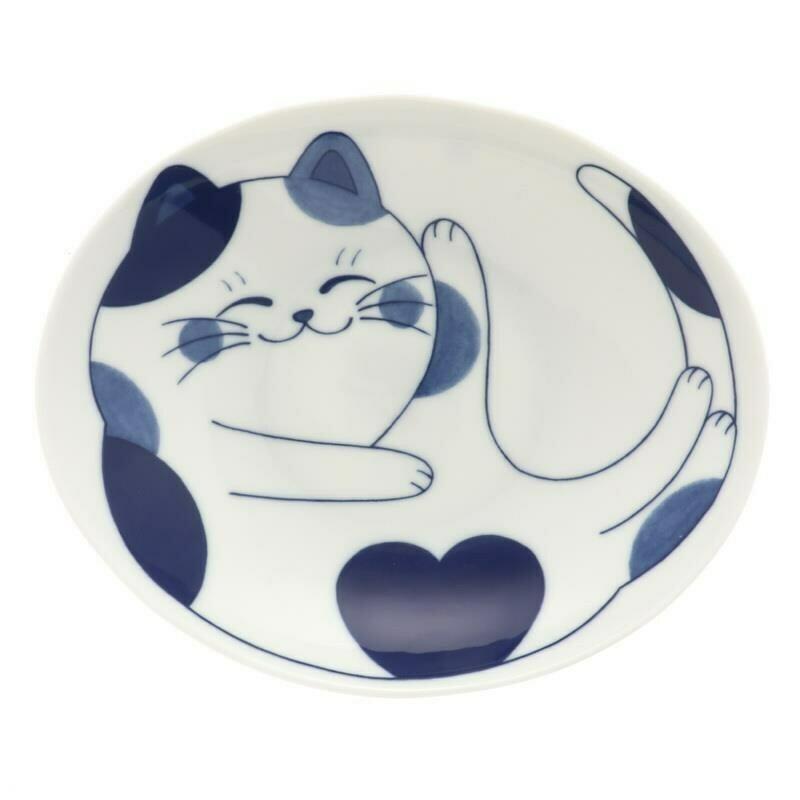 Bowl 'Chillin' Calico Cat 161-605