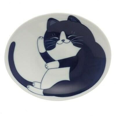 Bowl Tuxedo Cat Rocks! 161-606