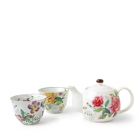 Tea Set Spring Floral J6456