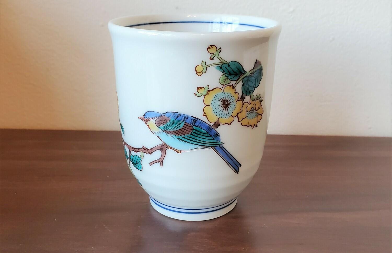 T-Cup Kutani Bird Yellow Plum 114-634