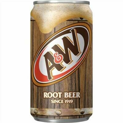 A&W Root Beer 12oz can