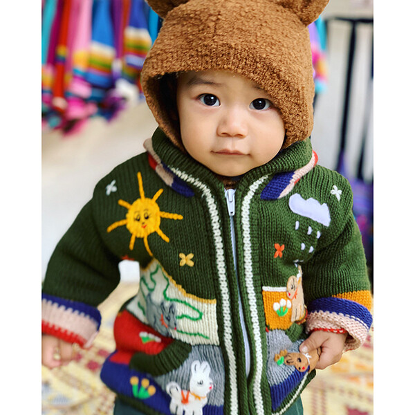 Peruvian Embroidered Cardigans 1yr (suitable for 6m-18m)