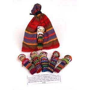 Set of Large Worry Dolls-FREE SHIPPING