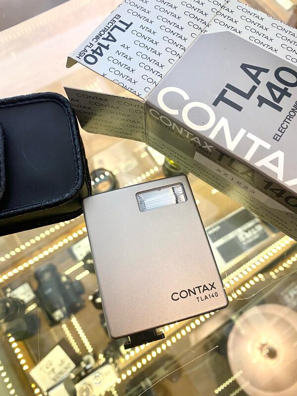 Contax Tla 140 w/ case