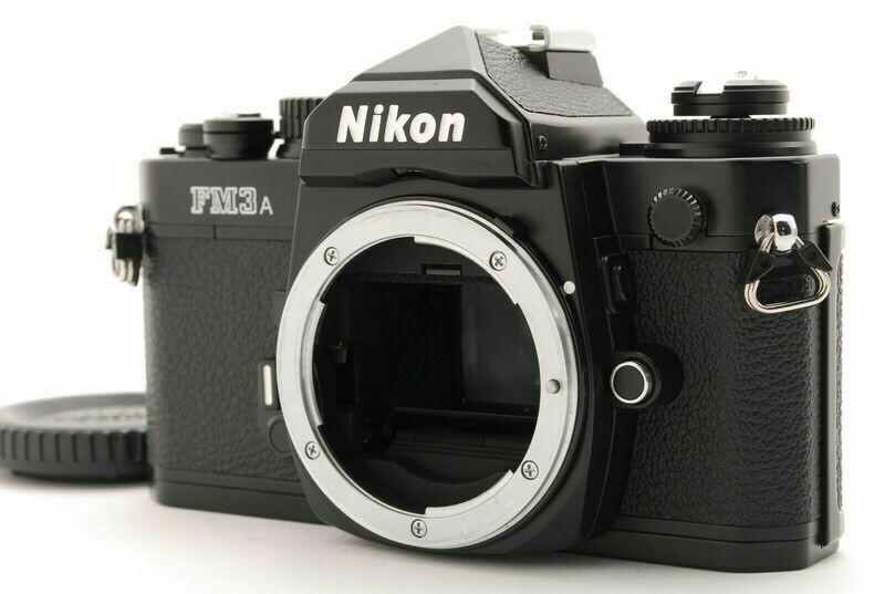 Nikon Fm3a Black