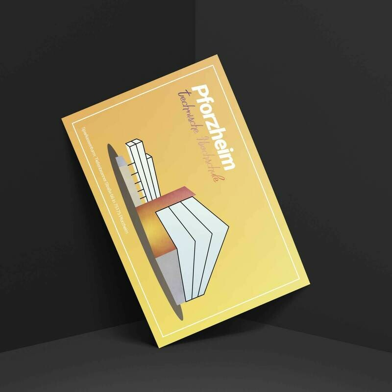 Pforzheim Postkarte