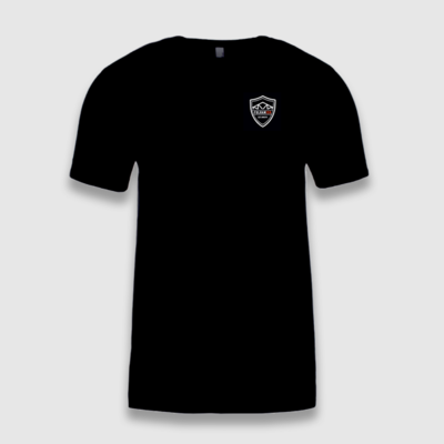 Fulhamish Logo Black T-Shirt