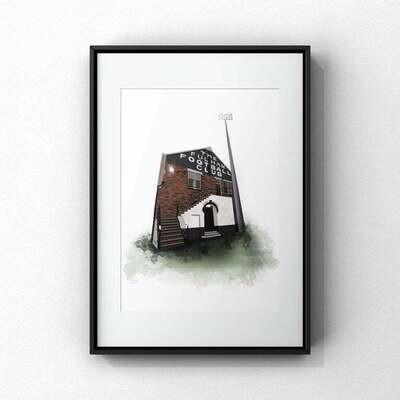Craven Cottage - A3 Print