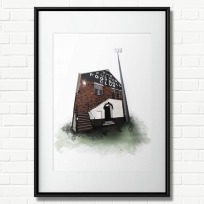 Craven Cottage - A4 Print