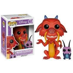 Funko Pop! Mushu & Cri-kee - Mulan (Disney)