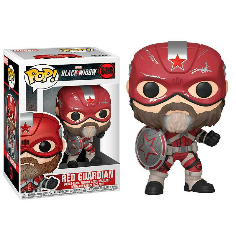 Funko Pop! Red Guardian - Black Widow (Marvel)