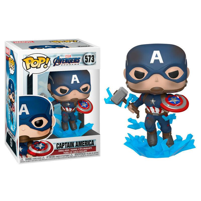 Funko Pop! Captain America - Avengers End Game (Marvel)