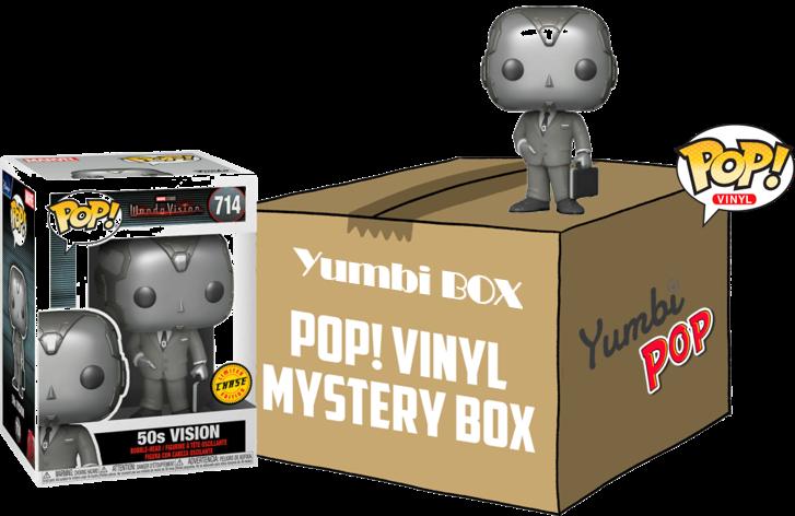 Yumbi Mystery Box - Vision 50s Chase + 5 POP! Marvel