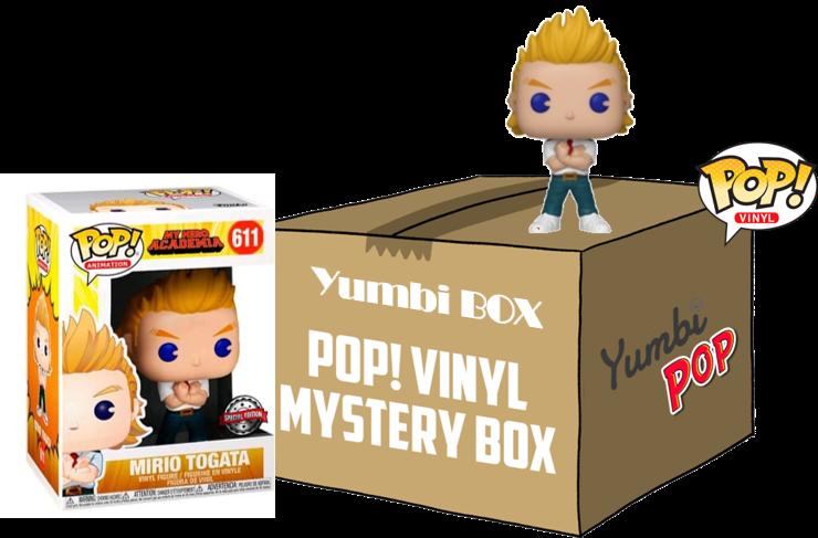 Yumbi Mystery Box - Mirio Togata + 5 POP!