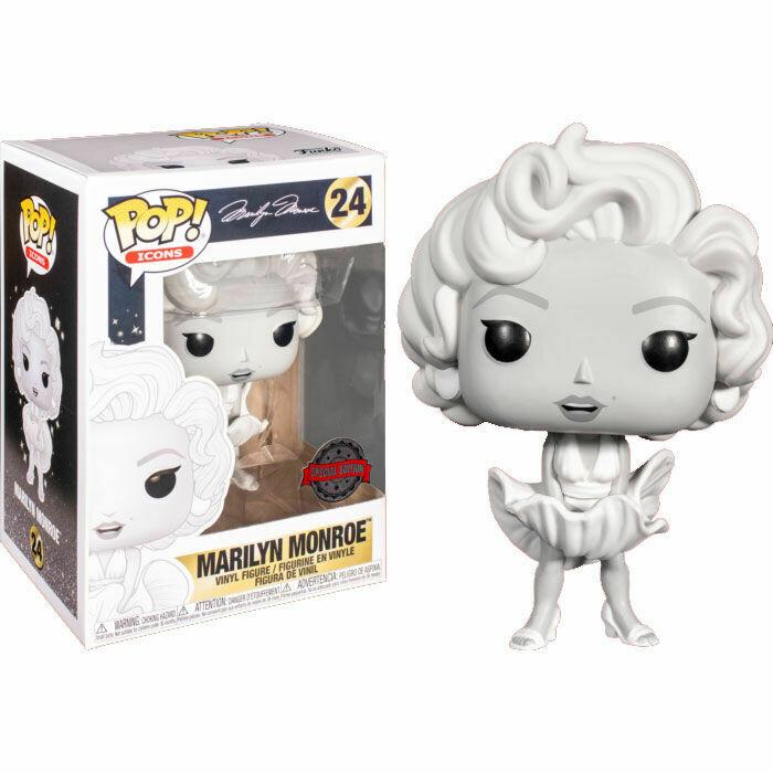 Funko Pop! Marilyn Monroe (black and white) - Exclusivo