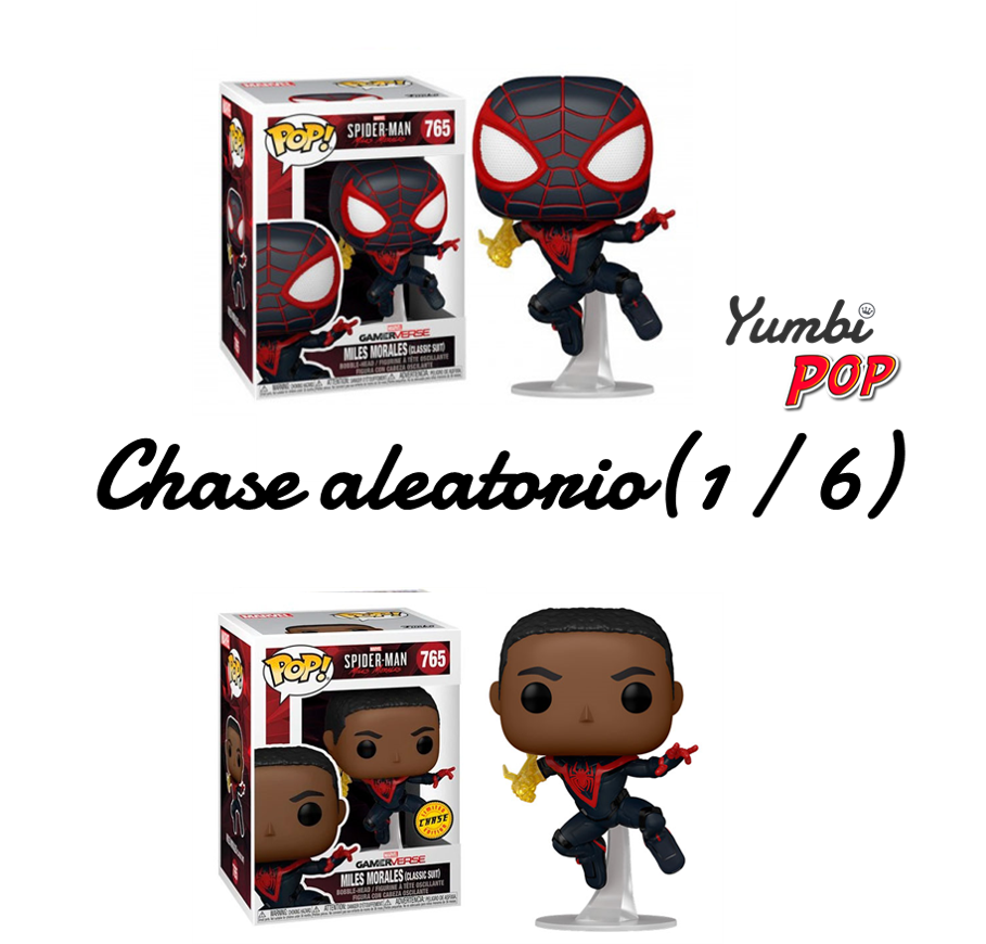 Funko Pop! Miles Morales Classic Suit (posible chase) - Spider-Man (Marvel Gamerverse)