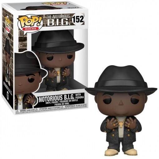Funko Pop! Notorious B.I.G. with Fedora - Estrellas de la musica